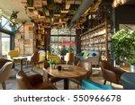 interior of a modern urban... | Shutterstock . vector #550966678