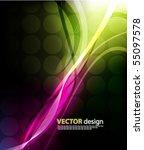 vector background | Shutterstock .eps vector #55097578