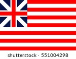 vector grand union flag | Shutterstock .eps vector #551004298