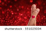 valentines day  wedding concept.... | Shutterstock . vector #551025034