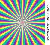 colorful multicolored burst... | Shutterstock .eps vector #551025694