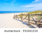 Wooden Fence Of Entrance To...