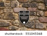 signboard of the old guardhouse ... | Shutterstock . vector #551045368