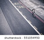 cycling in the city | Shutterstock . vector #551054950