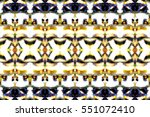melting colorful symmetrical... | Shutterstock . vector #551072410