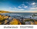 Rocky Shore In Malibu ...
