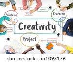 inspiration creative ideas...   Shutterstock . vector #551093176