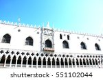 photo   palazzo ducale   doge's ... | Shutterstock . vector #551102044
