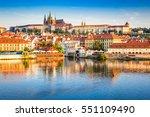 prague  bohemia  czech republic.... | Shutterstock . vector #551109490