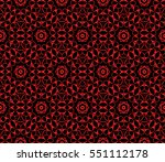 modern abstract floral pattern. ... | Shutterstock .eps vector #551112178