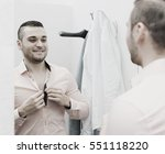 portrait of smiling male with...   Shutterstock . vector #551118220