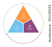 Triangle For Infographics With...