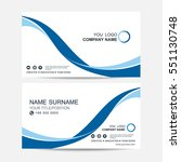 business card vector background | Shutterstock .eps vector #551130748