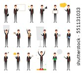 set of people character of... | Shutterstock .eps vector #551131033