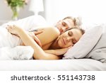picture of young couple... | Shutterstock . vector #551143738