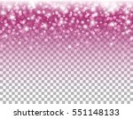 pink glitter texture and white... | Shutterstock .eps vector #551148133