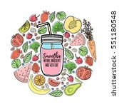 template design banners ... | Shutterstock .eps vector #551180548