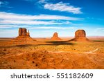 Monument Valley On The Border...