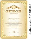 certificate template in