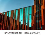 interesting architecture.... | Shutterstock . vector #551189194