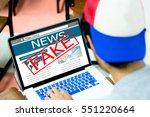 fake news  hoax conceptyoung