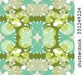 retro pattern design | Shutterstock .eps vector #551249224