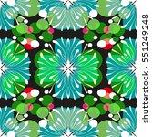 retro pattern design | Shutterstock .eps vector #551249248
