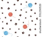 pet theme seamless pattern with ...