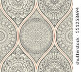 seamless abstract pattern with... | Shutterstock .eps vector #551253694