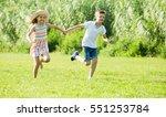 two happy joyful  children in... | Shutterstock . vector #551253784