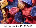 sweet potato candy striped beet ...   Shutterstock . vector #551256610