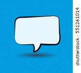 speaking ballon. vector ...   Shutterstock .eps vector #551261014