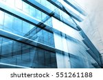 light blue background of glass... | Shutterstock . vector #551261188
