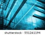 light blue background of glass...   Shutterstock . vector #551261194
