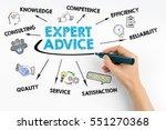 expert advice concept. human... | Shutterstock . vector #551270368