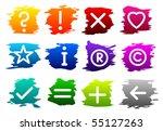 vector symbol icon set