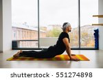 side view of indian man doing... | Shutterstock . vector #551274898