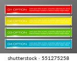information infographic... | Shutterstock .eps vector #551275258