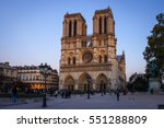 Notre Dame Cathedral On Ile De...