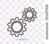 line icon   gears