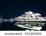 luxury yachts in la spezia... | Shutterstock . vector #551303404