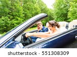beautiful young couple bride... | Shutterstock . vector #551308309