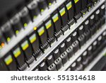enclosure with hard disk drive... | Shutterstock . vector #551314618