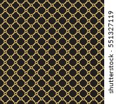 seamless geometric interlacing...   Shutterstock .eps vector #551327119
