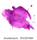 colorful abstract watercolor...   Shutterstock .eps vector #551337484