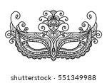 vector  illustration  mask ...   Shutterstock .eps vector #551349988