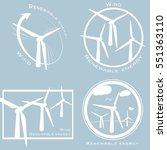 vector set of alternative and... | Shutterstock .eps vector #551363110