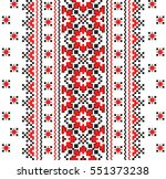 embroidered good like handmade... | Shutterstock .eps vector #551373238