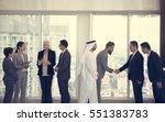 business partners...   Shutterstock . vector #551383783