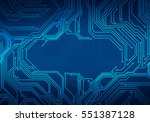 digital conceptual image... | Shutterstock . vector #551387128